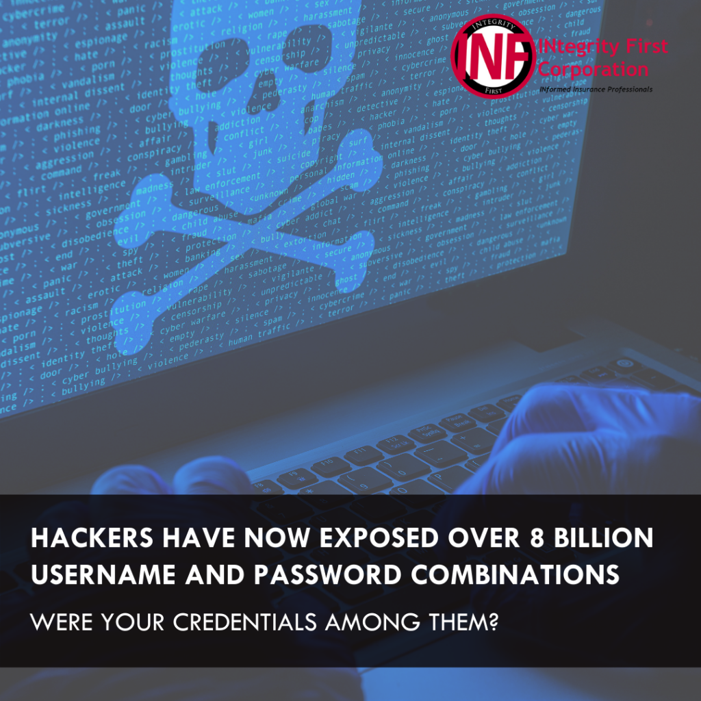 Hackers Have Now Exposed Over 8 Billion Username and Password Combinations